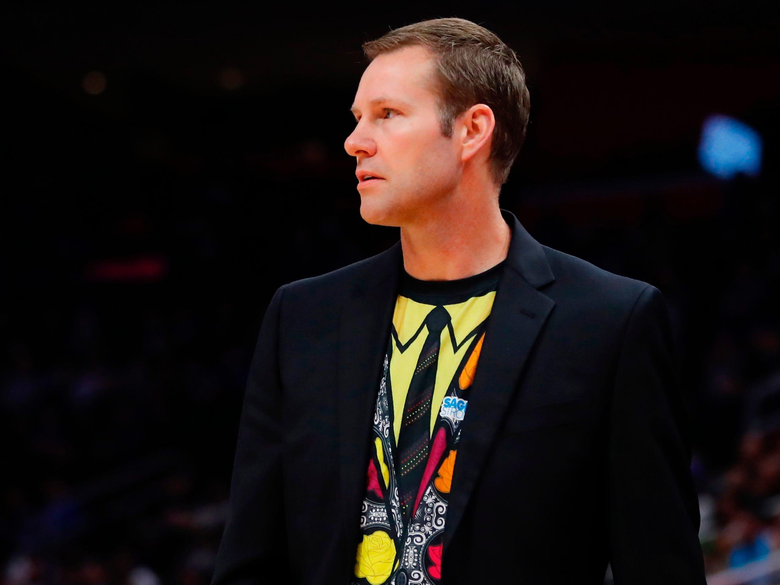 Nov. 30: Chicago Bulls coach Fred Hoiberg