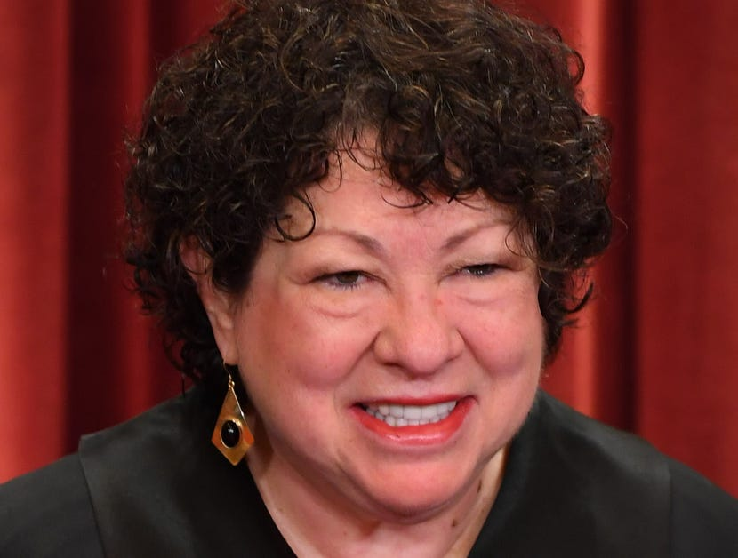 Associate justice Sonia Sotomayor