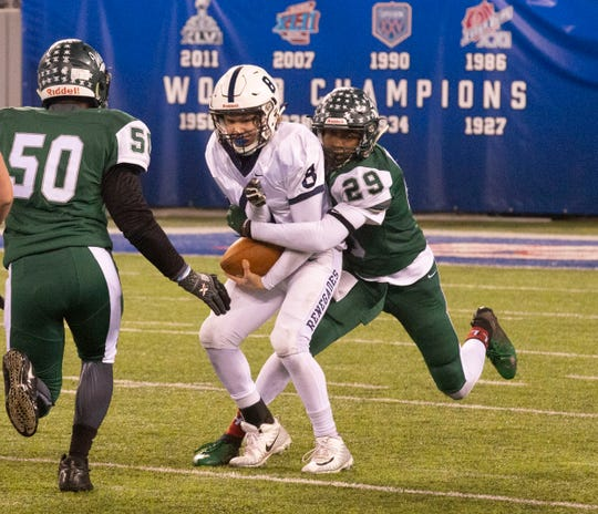 Shawnee vs Long Branch in NJSIAA South Group IV Bowl Game in East Rutherford on November 30, 2018.