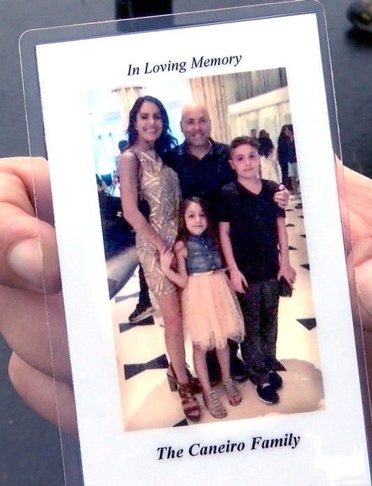 Caneiro Family Funeral