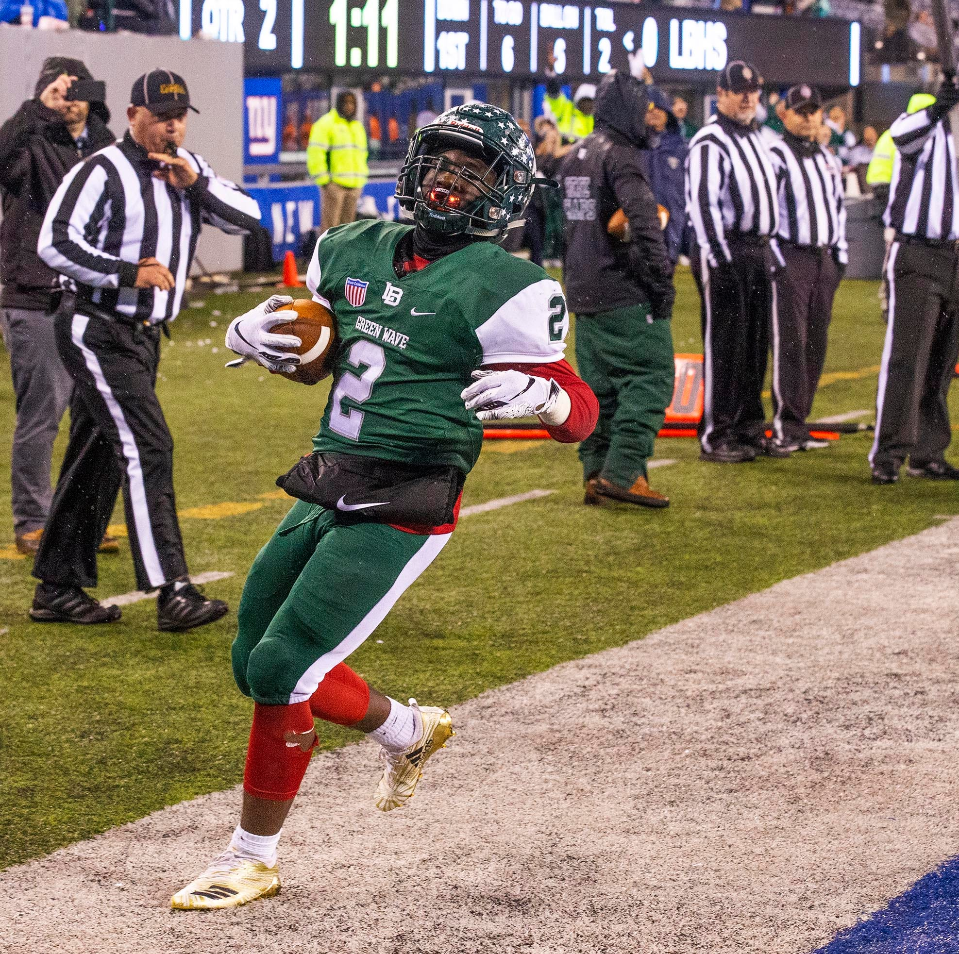 NJ football playoffs:  Long Branch storms back to win bowl game