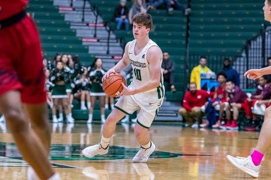 Seton Catholic Central graduate Leo Gallagher is adjusting to Division I basketball as a freshman at Binghamton University.