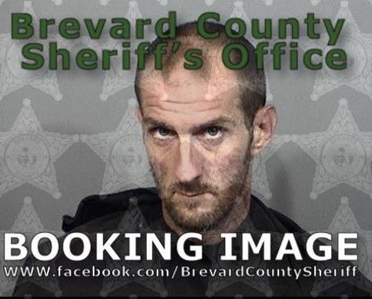Shawn Overton, 30, of Palm Bay, was arrested after police say he attacked a man with a baseball bat in Palm Bay.