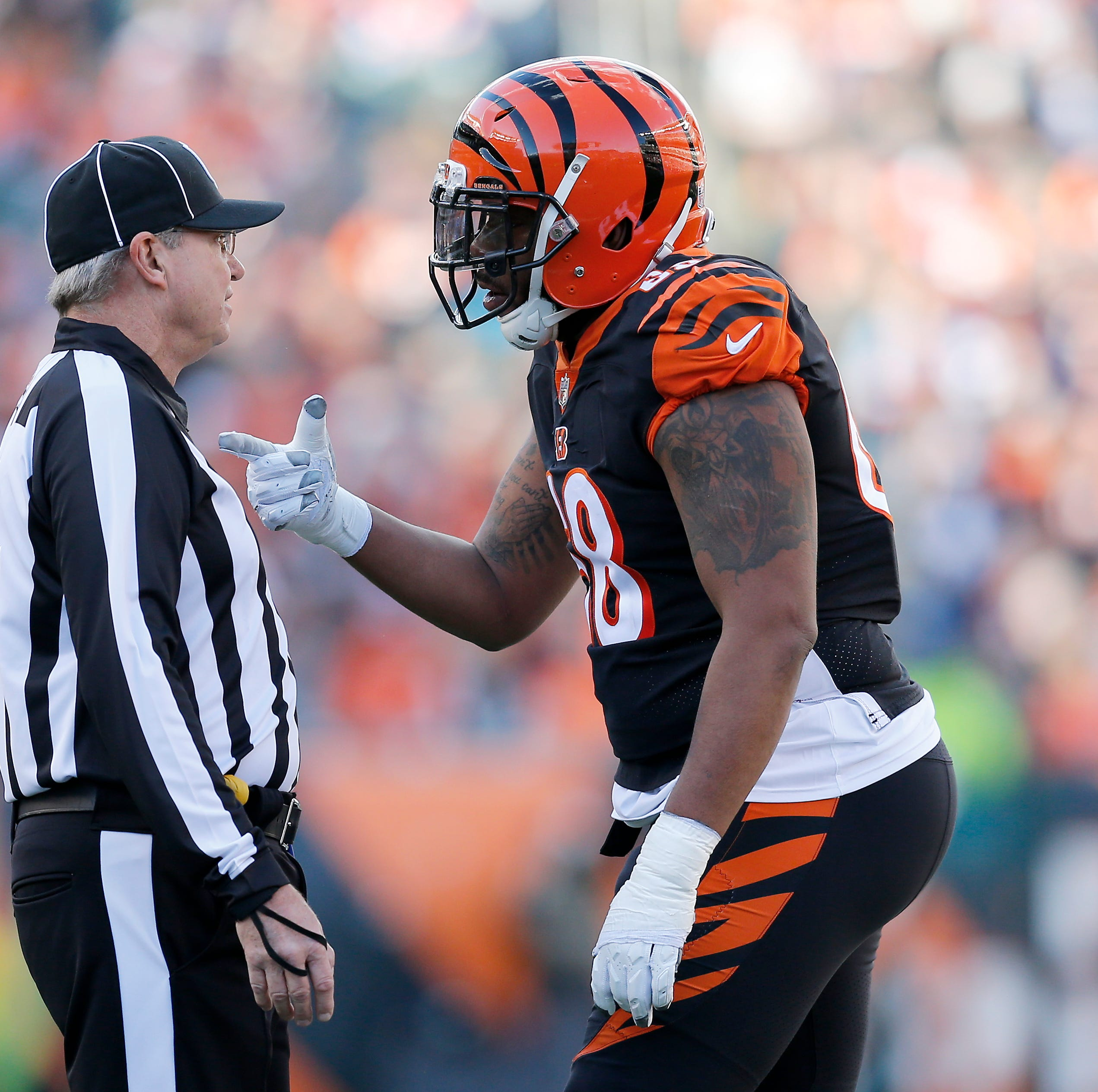 Cincinnati Bengals' OC Bill Lazor: Pre-snap penalties 'professionally embarrassing'