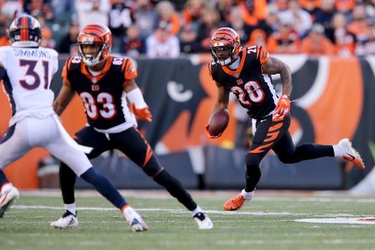 Denver Broncos Vs Cincinnati Bengals 12 02 2018 3d3a64eca