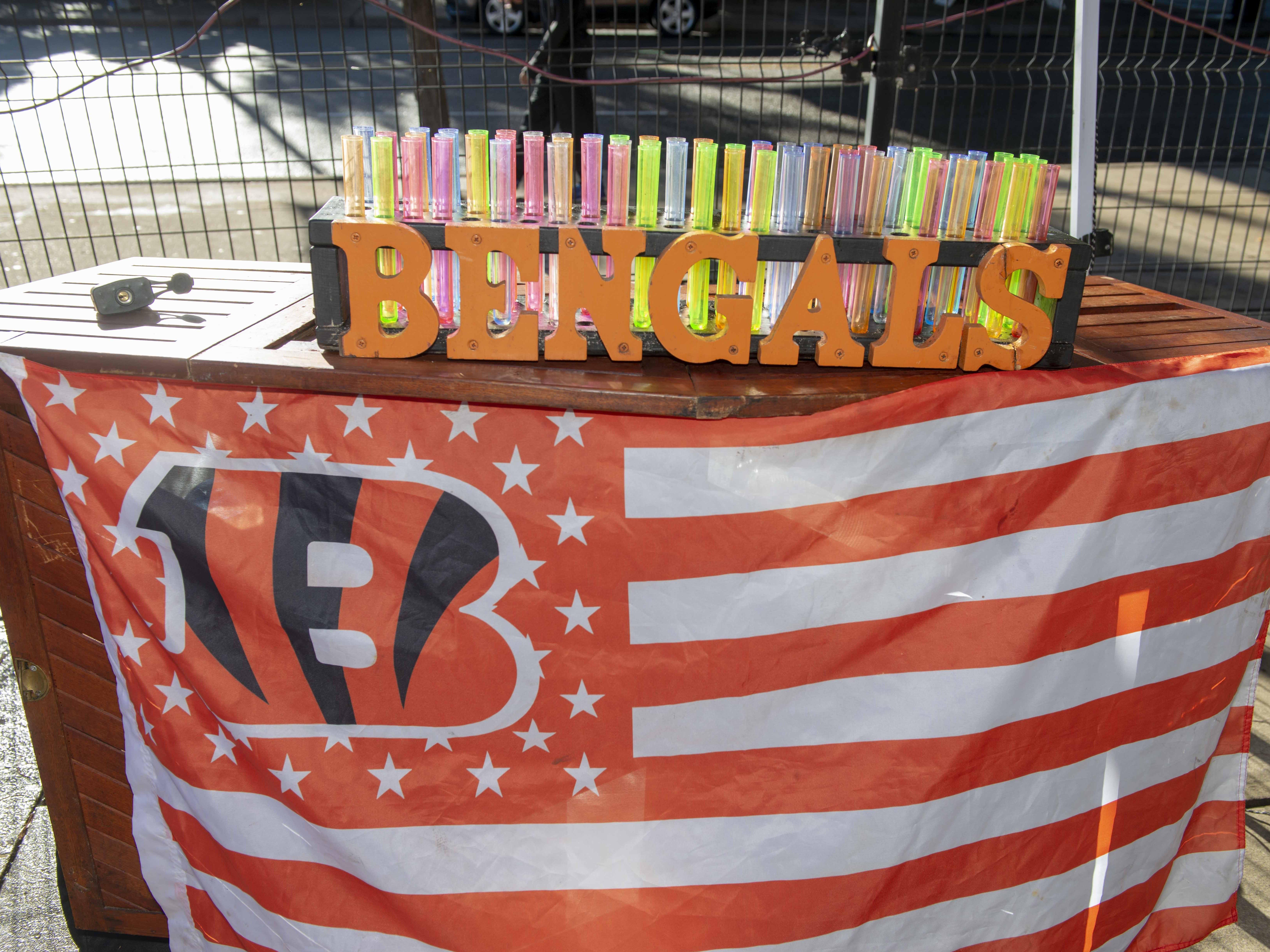 Cincinnati Bengals fans showed up for tailgating parties as the Cincinnati Bengals hosted the Denver Broncos at Paul Brown Stadium Sunday, December 2, 2018. Bengal Shots.