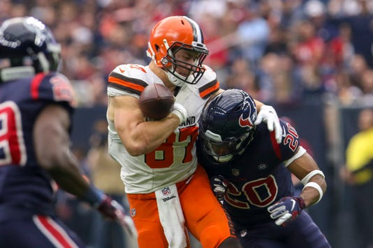 Nfl Cleveland Browns At Houston Texans