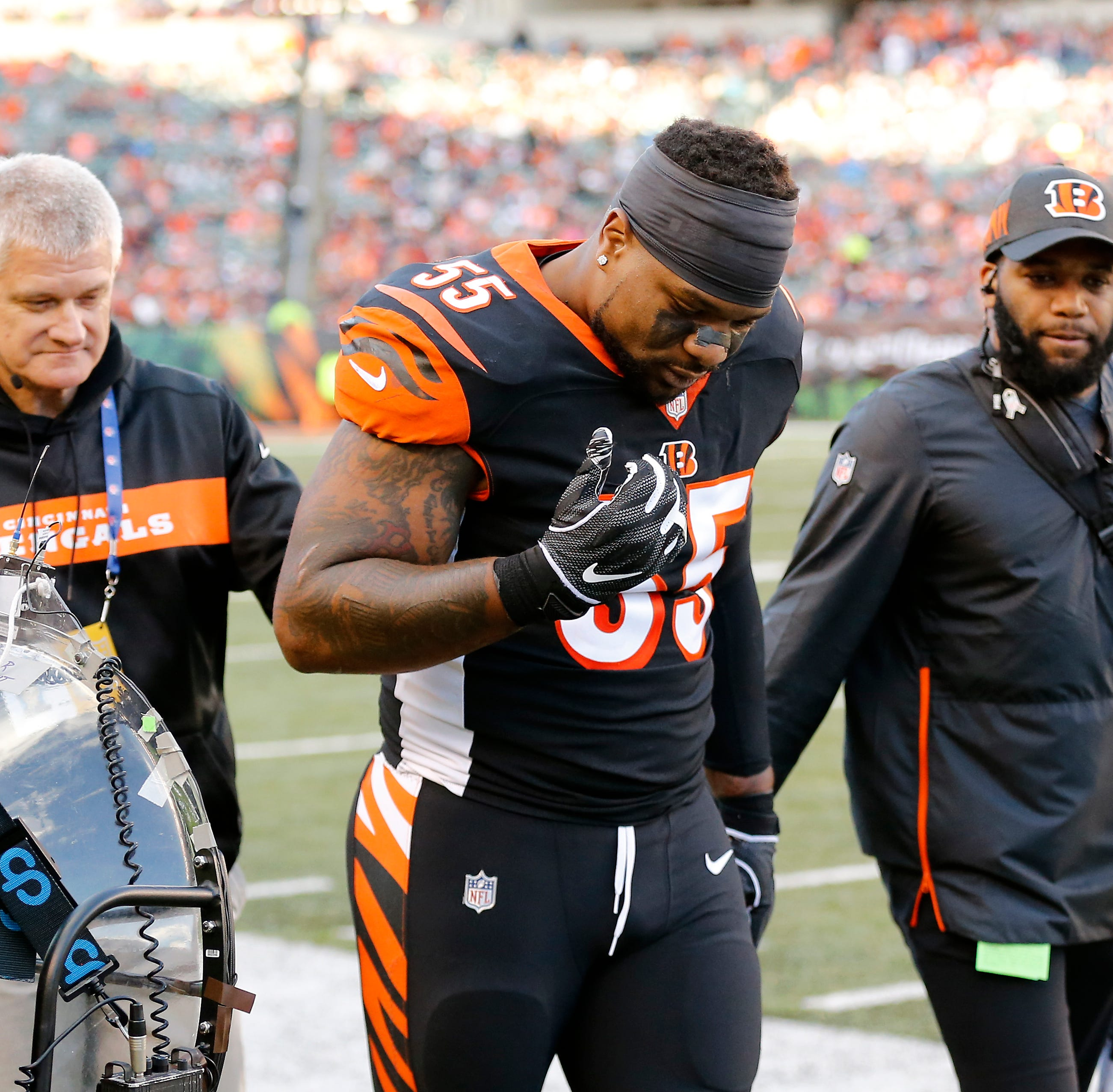 BX: Mounting concussions scary aspect of Vontaze Burfict's uncertain future
