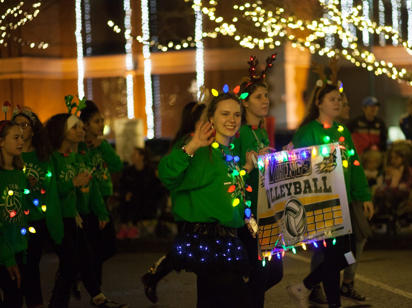 The annual Christmas Parade moved through Downtown Clarksville on Saturday, Dec. 1, 2018 in Clarksville, Tenn.