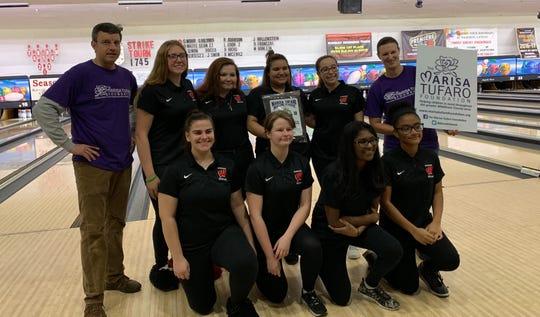 The Woodbridge girls team won the Marisa Tufaro Classic