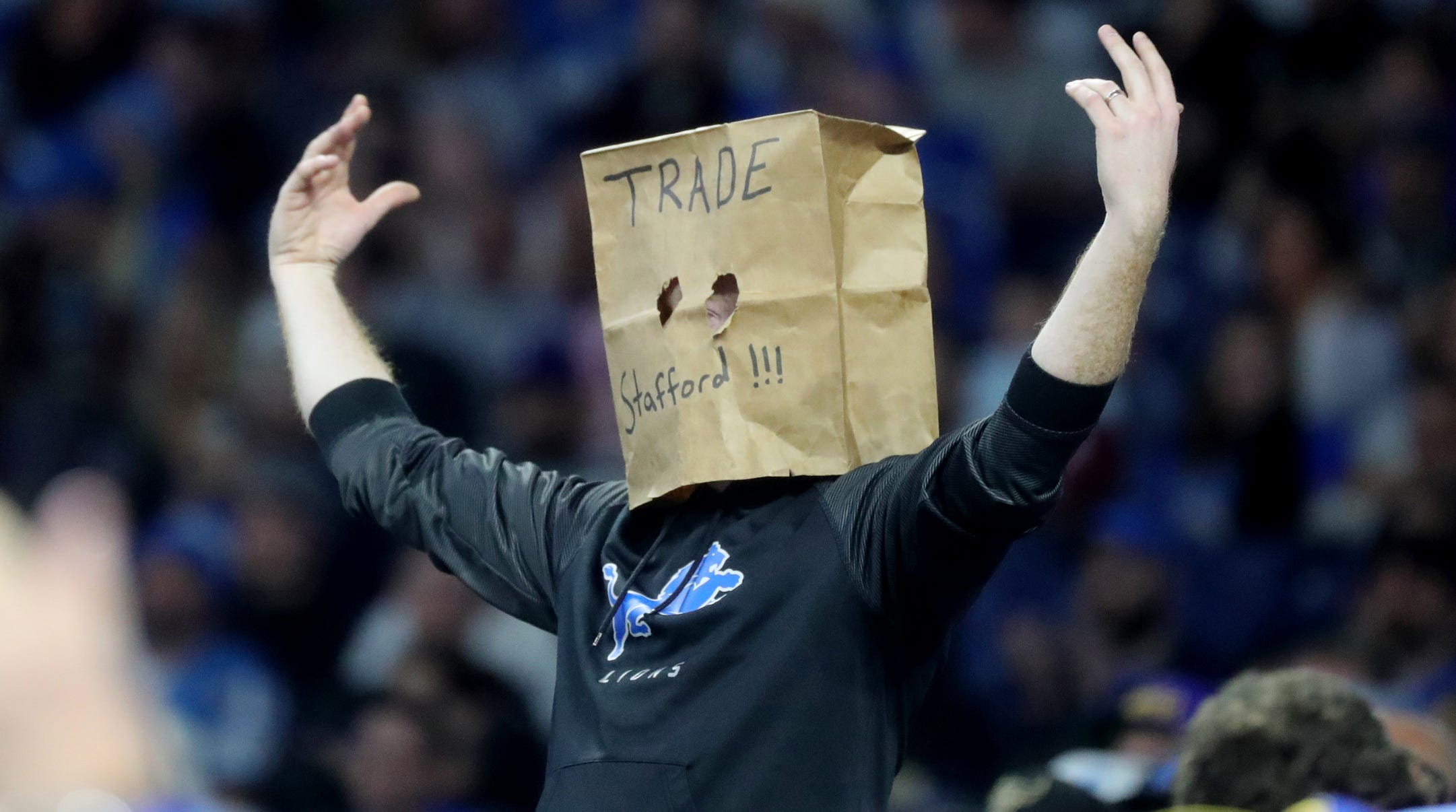 Roses are red, violets are blue ... trade Matthew Stafford?
