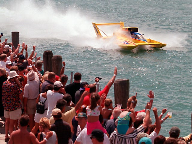 Gold Cup hydroplane boat race returning to Indiana