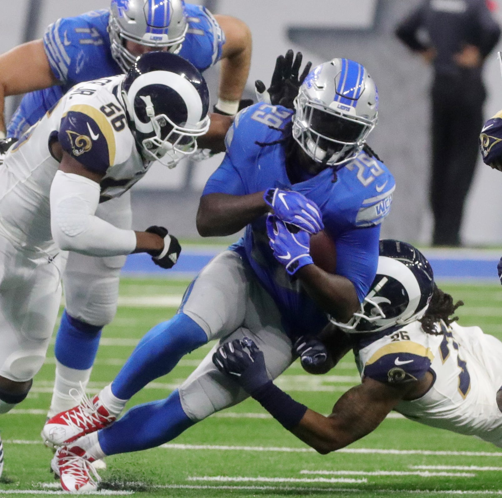 Detroit Lions' decimated offense 'better go live in reality'
