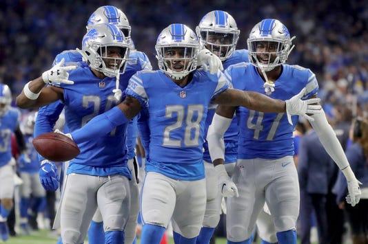 Lions Vs Rams