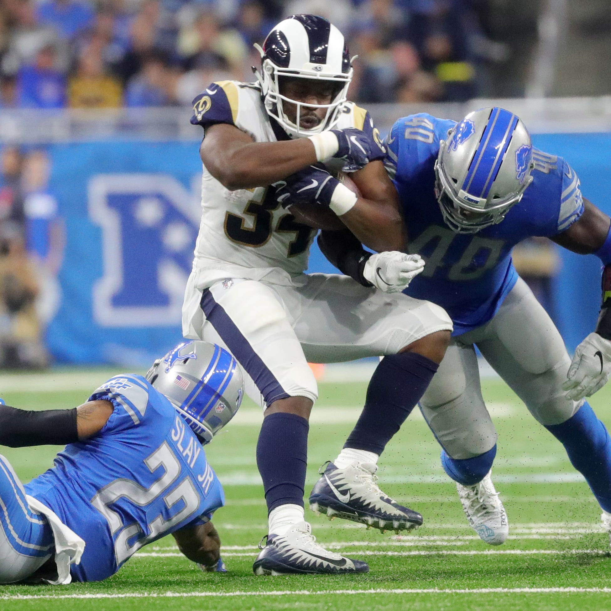 Detroit Lions sign RB Malcolm Brown to offer sheet, per reports