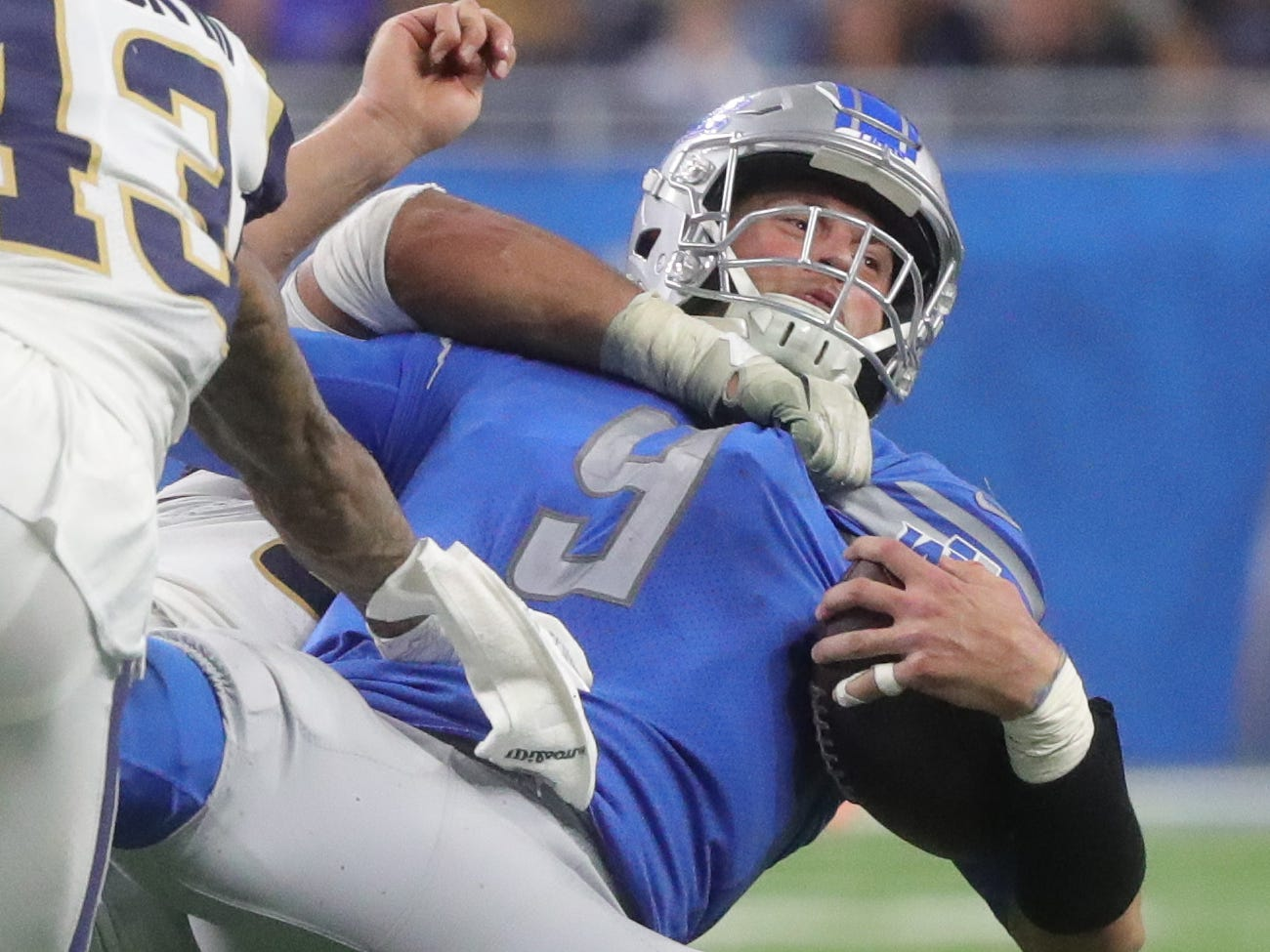 Detroit Lions' Matthew Stafford questionable vs. Arizona with back injury
