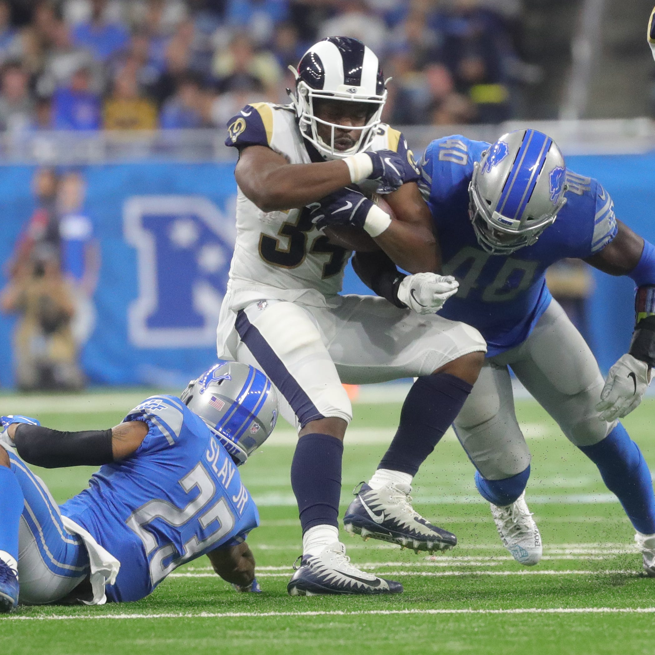 Detroit Lions miss on RB Malcolm Brown, Rams match offer sheet