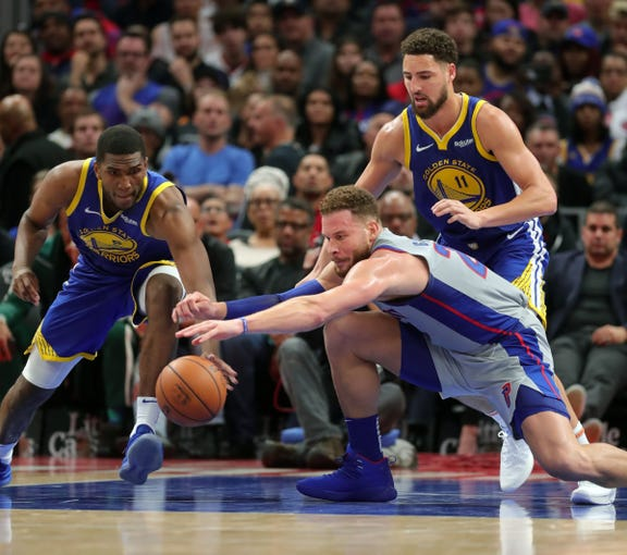 detroit pistons 111 golden state warriors 102 photos from lca