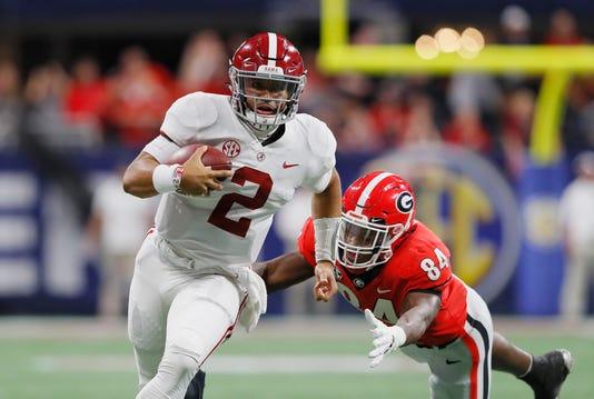 Sec Championship Alabama V Georgia