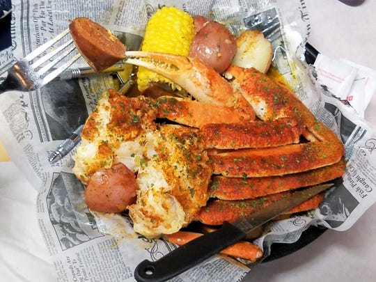 Here's to the crab in Crab Shack. Choose snow crab, king crab, or Dungeness crab for your boil at Catfish Willy's.