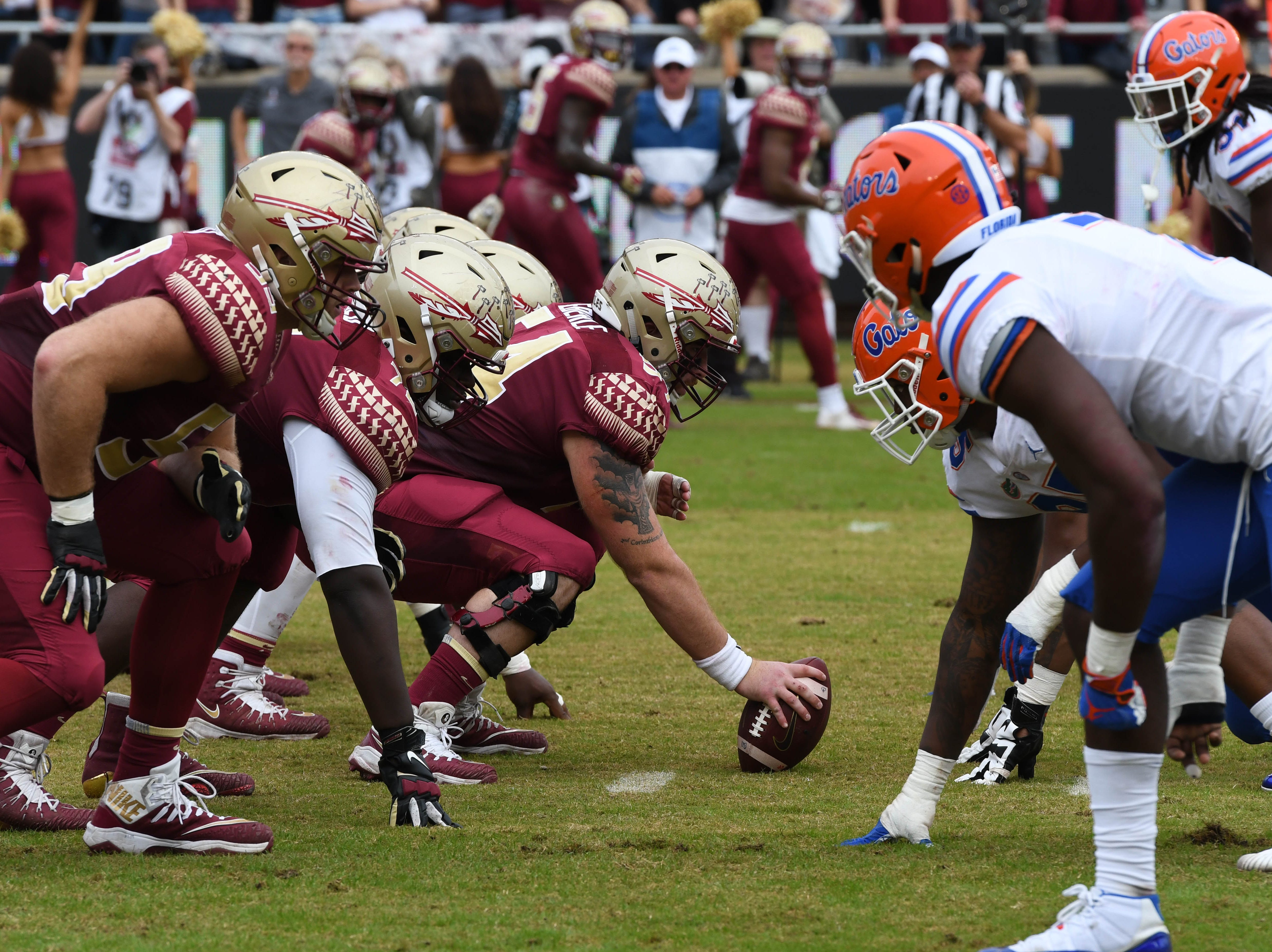 The FSU game against UF was the 63rd meeting of both teams on November 24, 2018.
