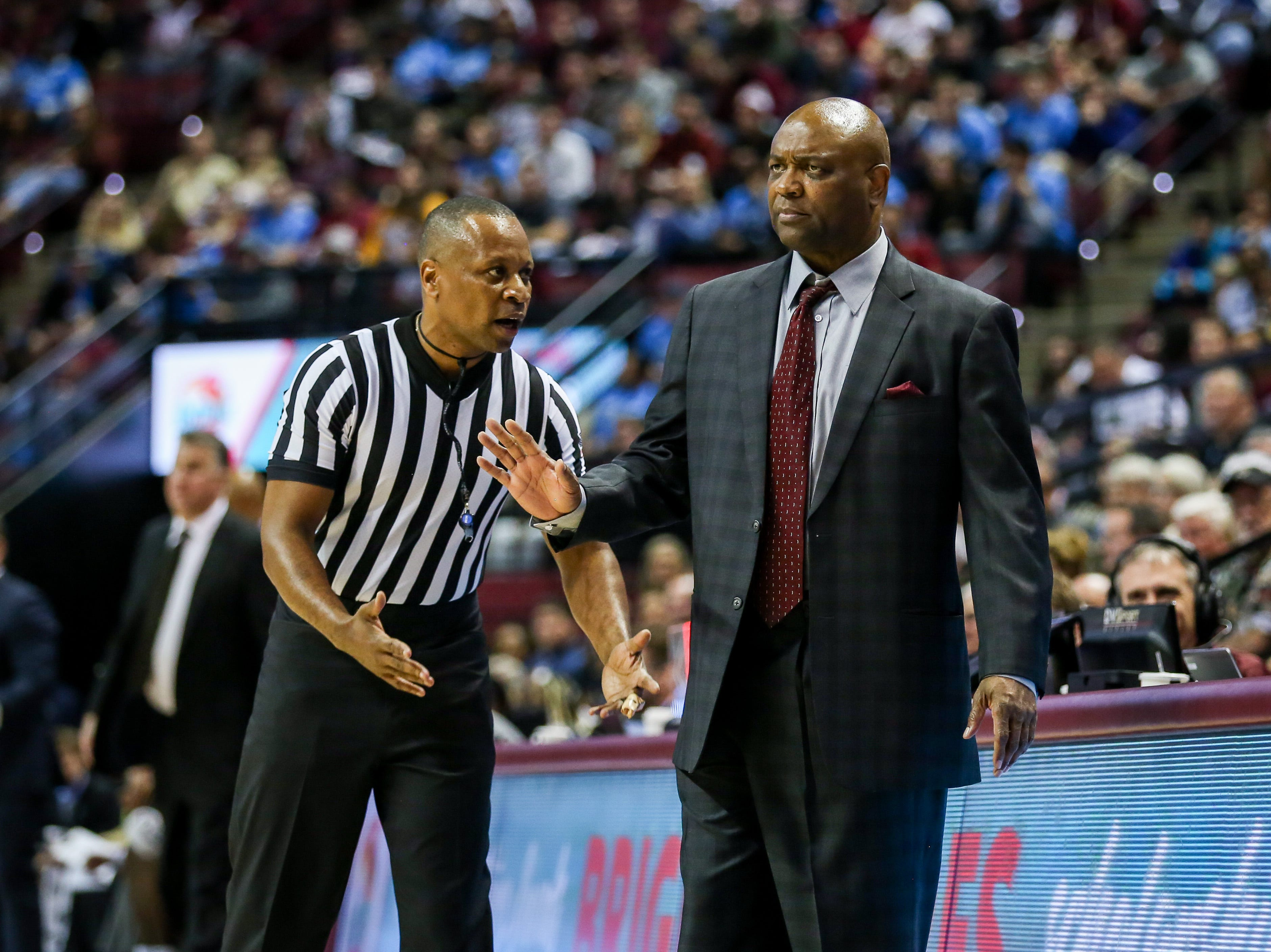 After a few blown calls by the referees, Leonard Hamilton had no more patience for the officials in the second half on Wednesday, November 28th.