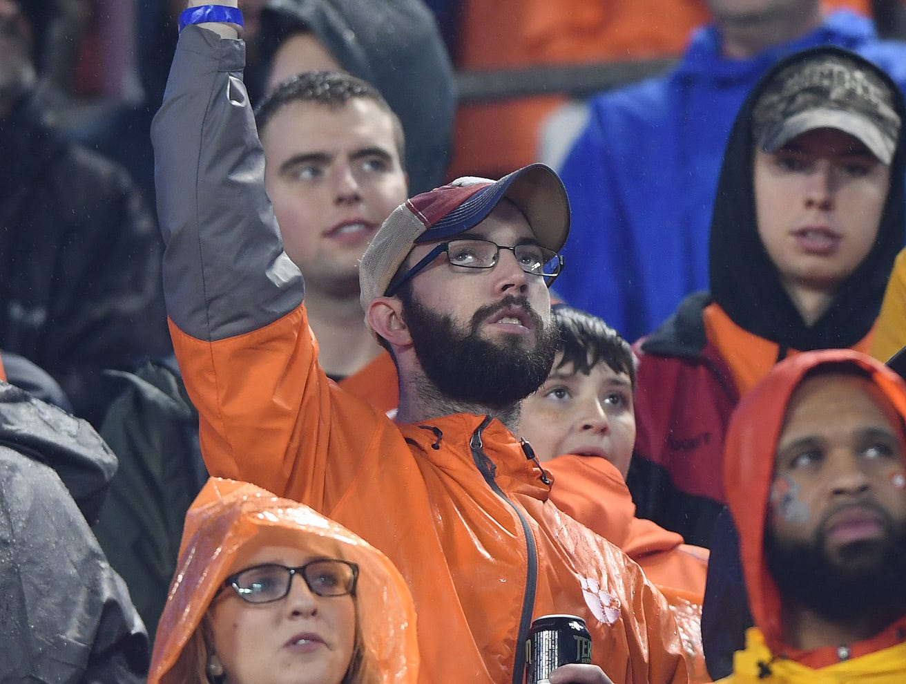 Clemson fans during the 2nd quarter of the Dr. Pepper ACC Championship at Bank of America Stadium in Charlotte, N.C. Saturday, December 1, 2018.