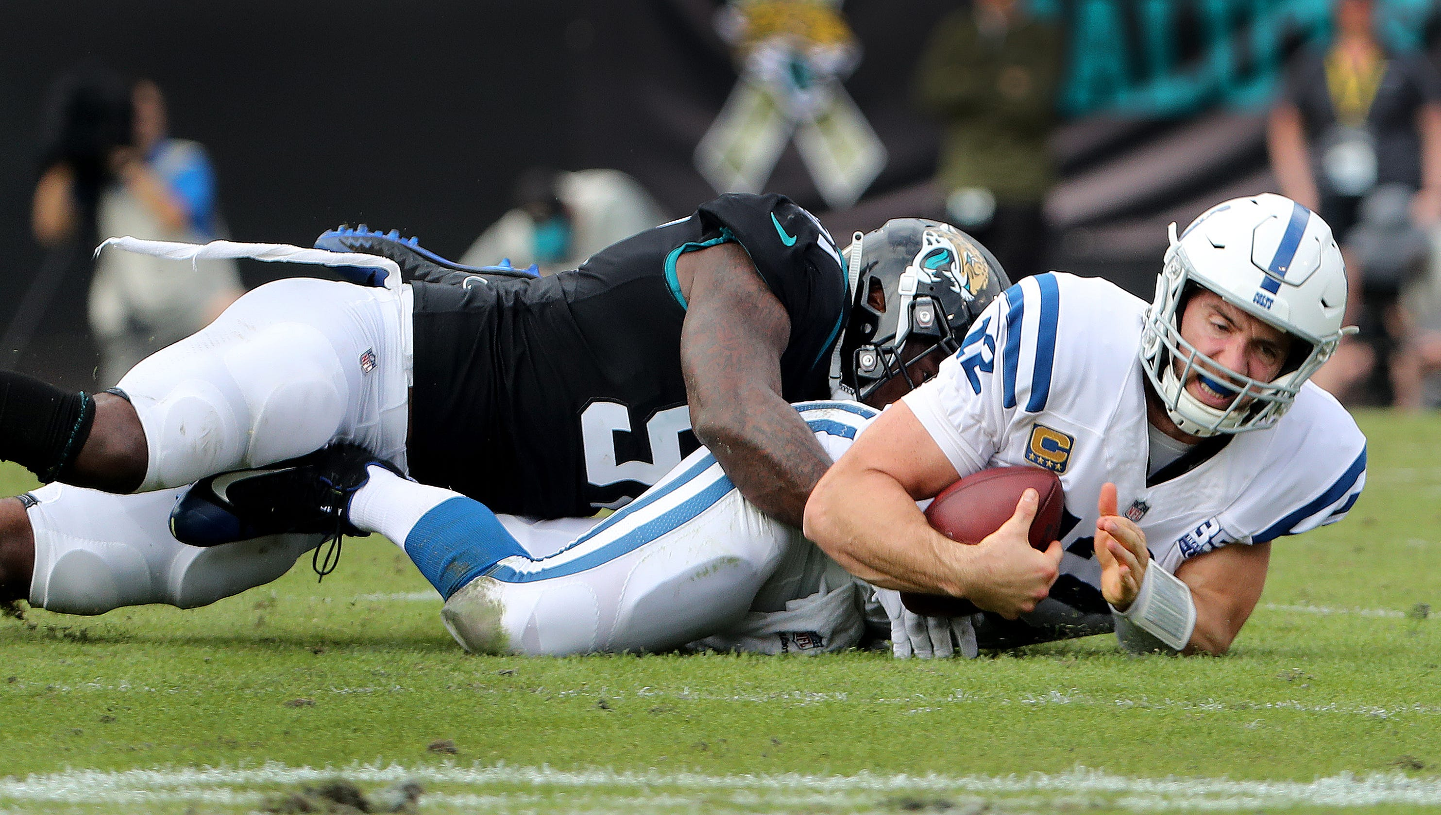 a91d4ee1 Fourth-down decisions doom Colts in 6-0 loss to Jaguars