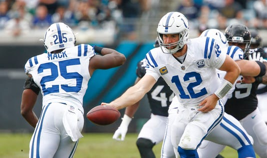 Nfl Indianapolis Colts At Jacksonville Jaguars