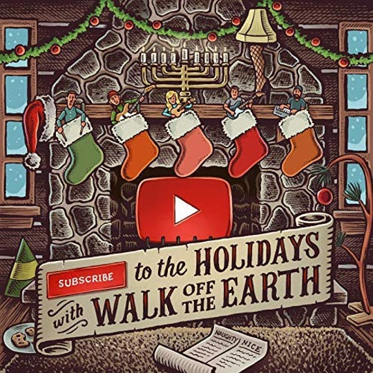 """Subscribe To The Holidays"" by Walk Off The Earth"
