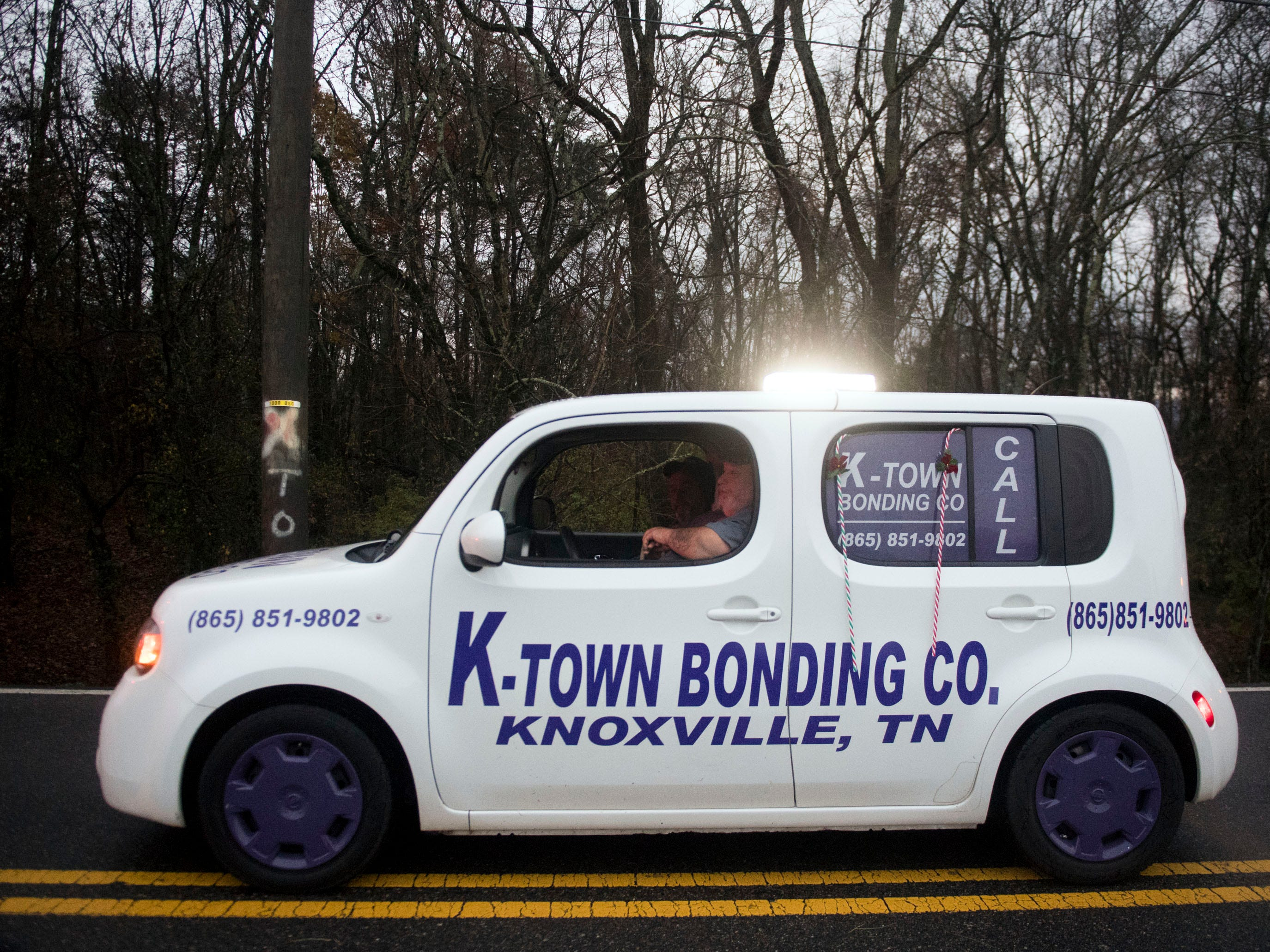 K-Town Bonding Co. in the Powell Lions Club Christmas Parade on Saturday, December 1, 2018.