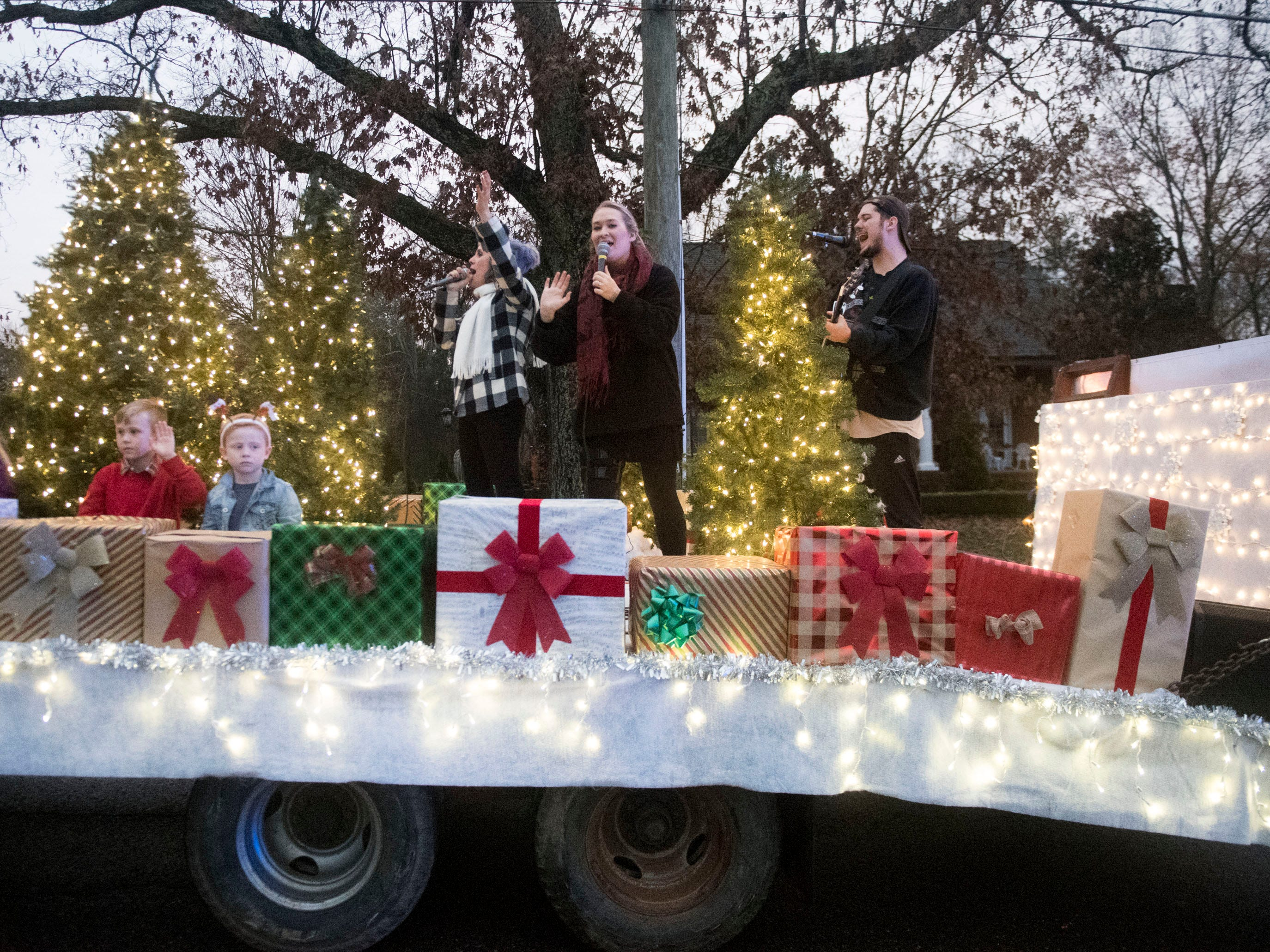 Redemption Life Church in the Powell Lions Club Christmas Parade on Saturday, December 1, 2018.