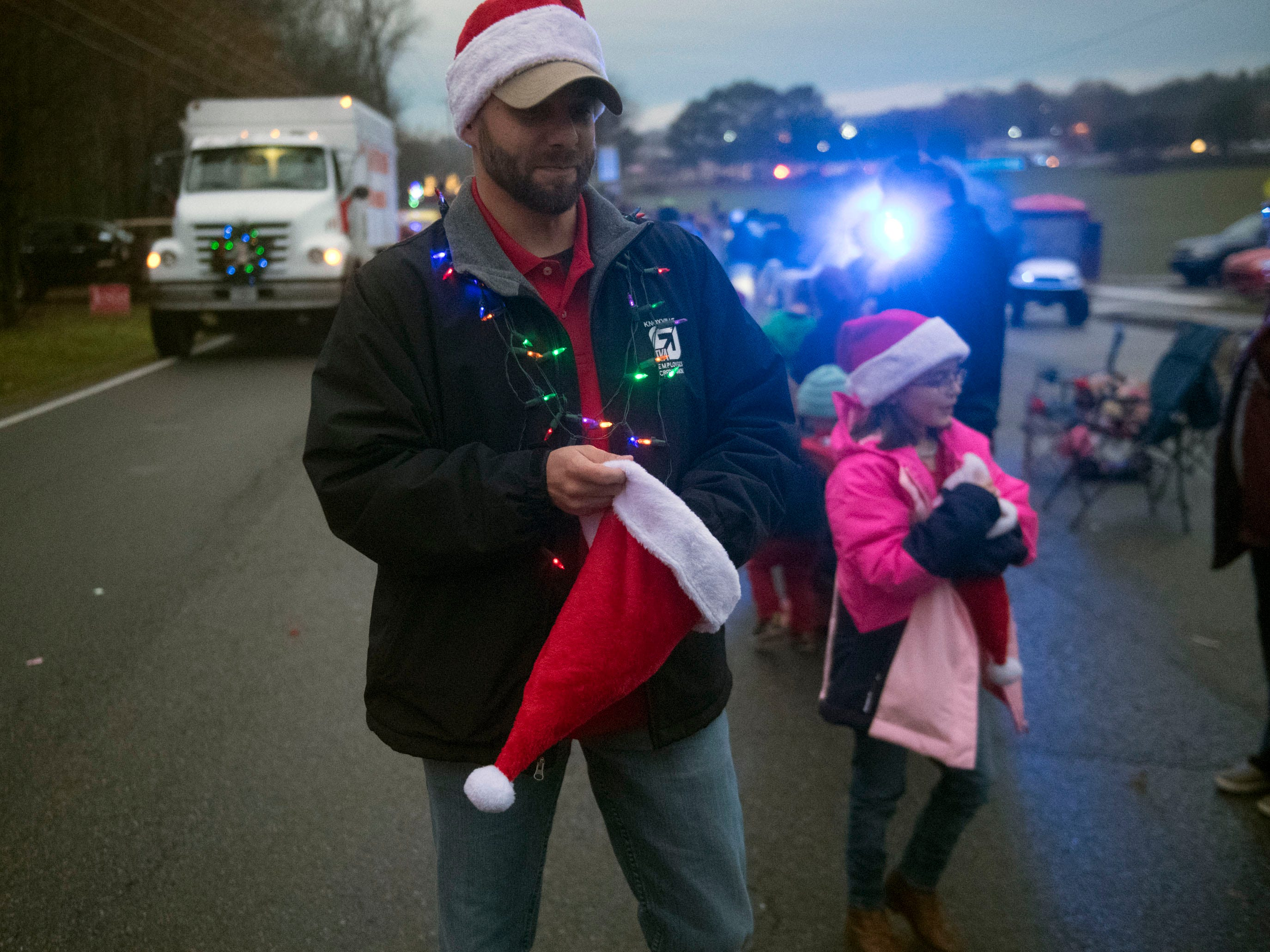 TVA Employees Credit Union in the Powell Lions Club Christmas Parade on Saturday, December 1, 2018.