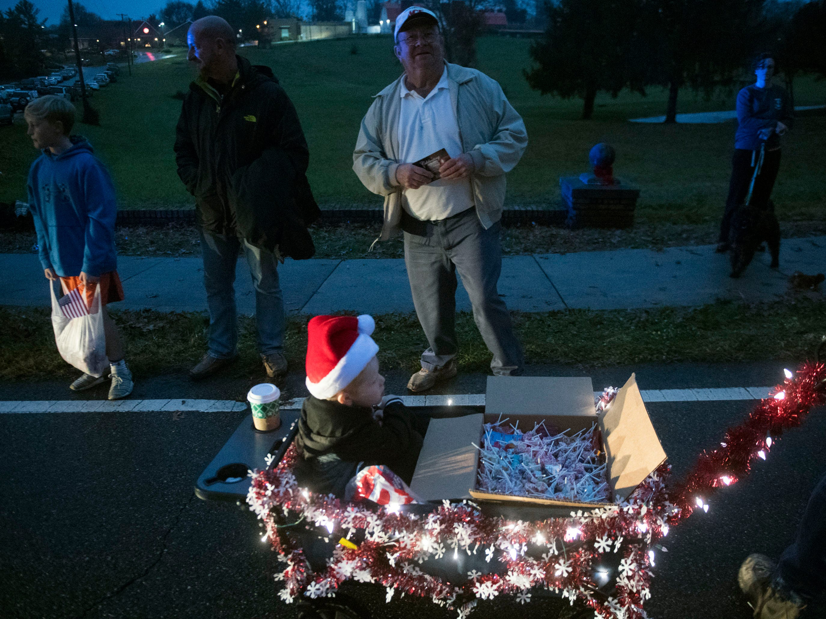 The Powell Lions Club Christmas Parade on Saturday, December 1, 2018.