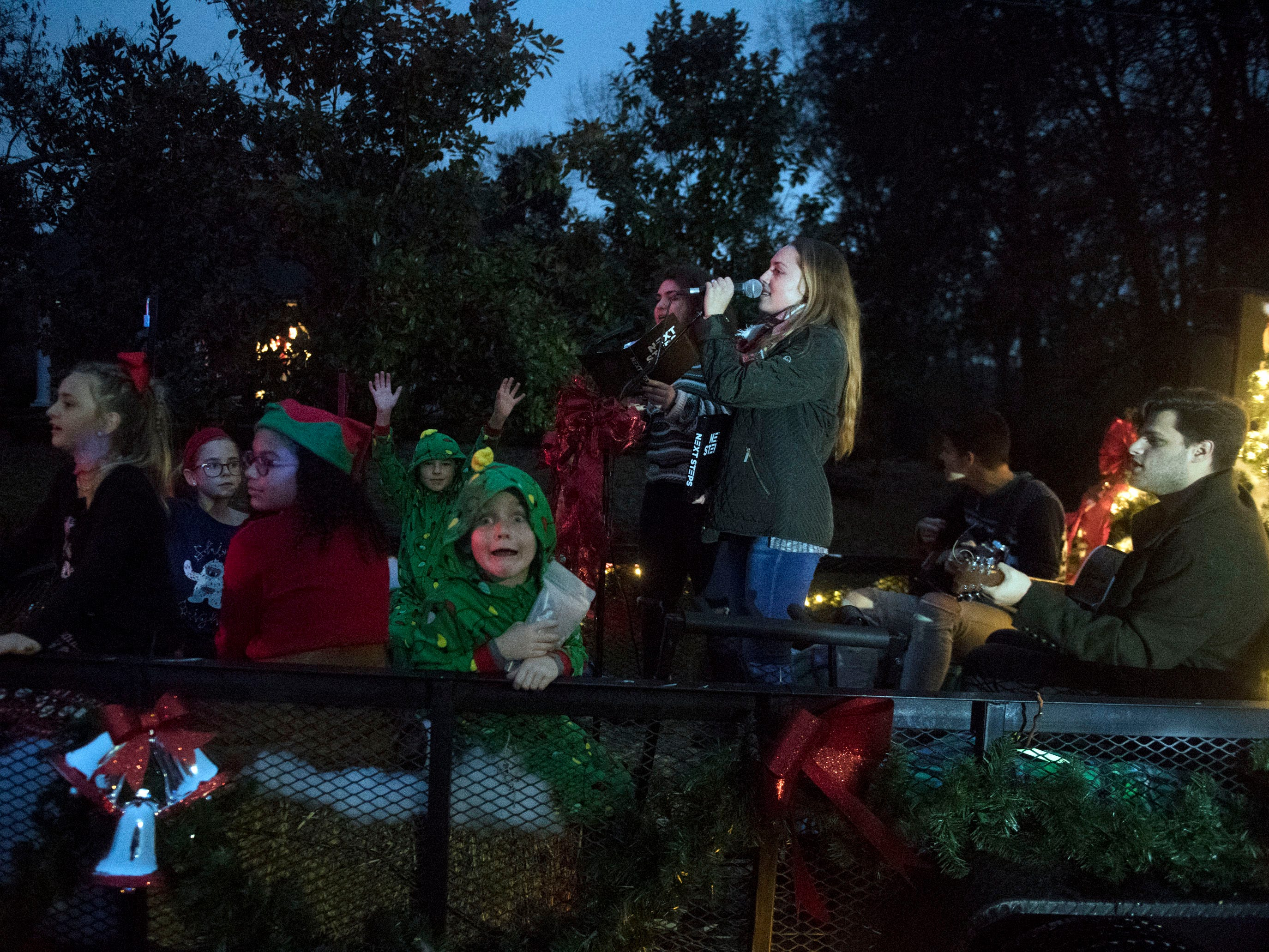 Faith Promise Church at the Powell Lions Club Christmas Parade on Saturday, December 1, 2018.