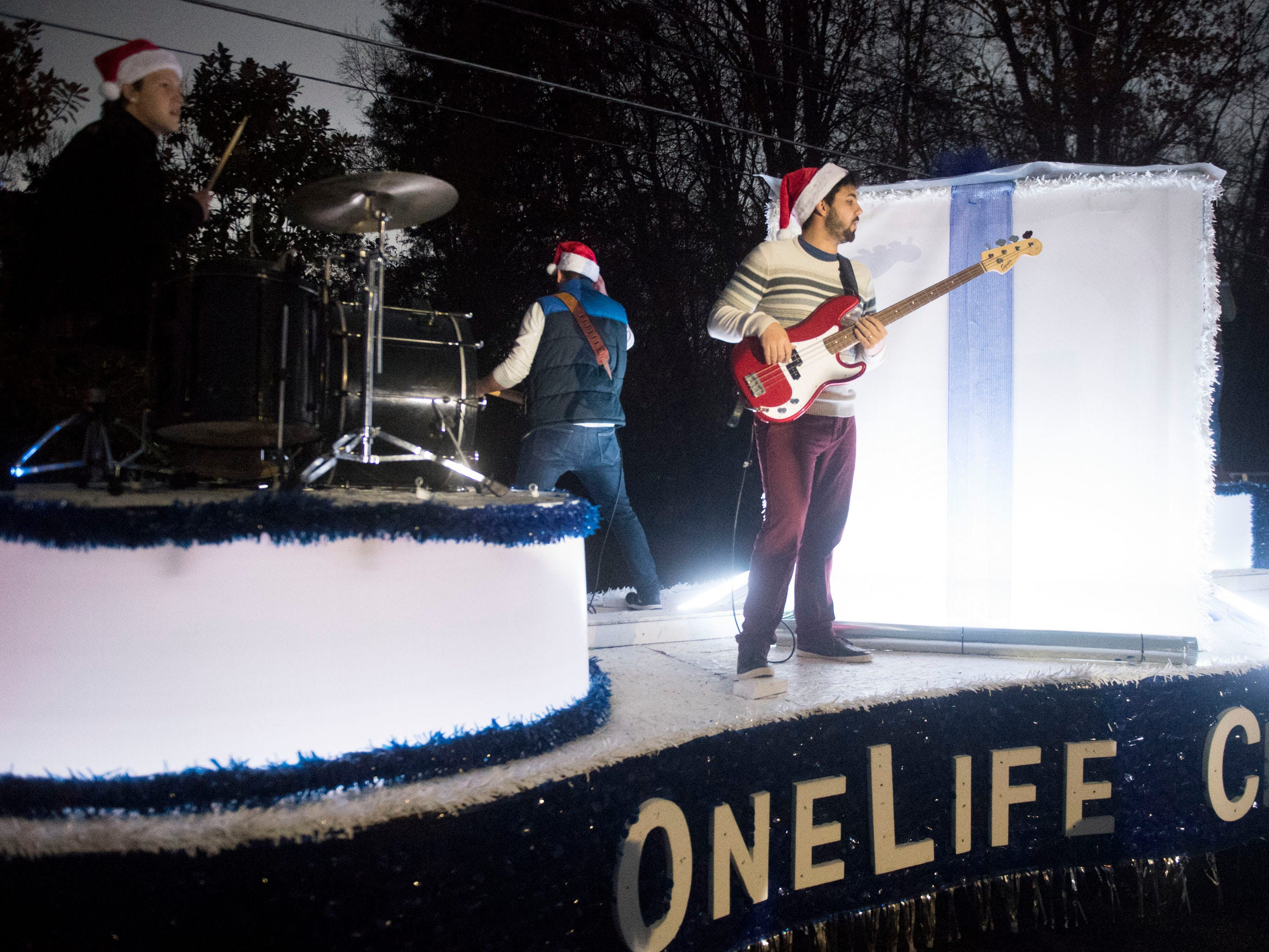 OneLife Church in the Powell Lions Club Christmas Parade on Saturday, December 1, 2018.