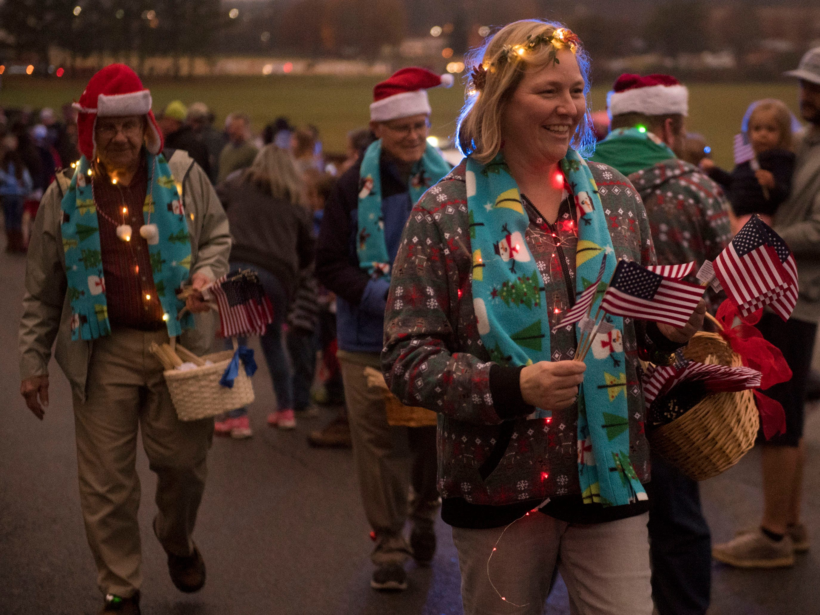The Knox County Democratic Part in the Powell Lions Club Christmas Parade on Saturday, December 1, 2018.