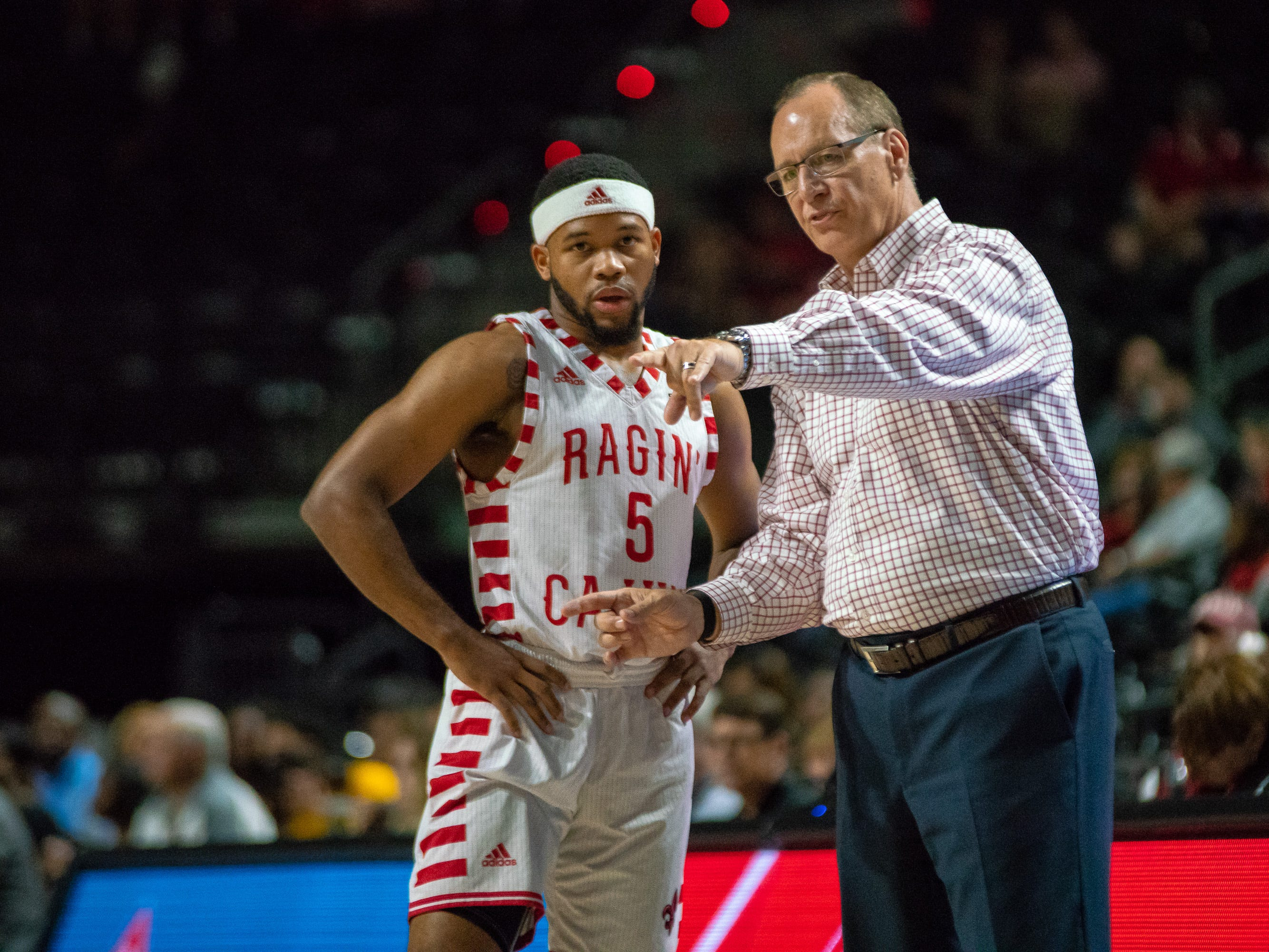 Marlin wants his Cajuns to be 'a little more accountable'