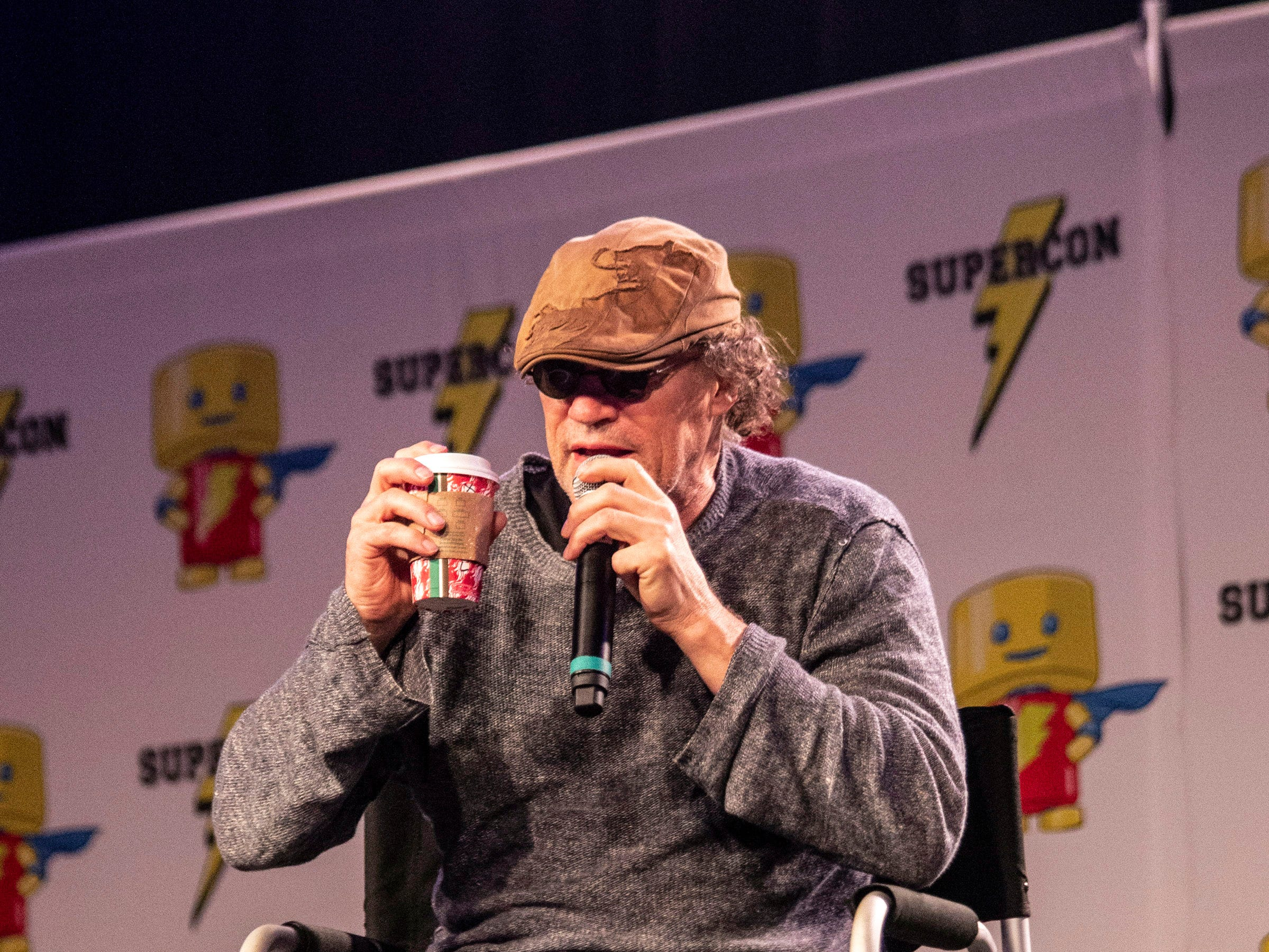 Actor Michael Rooker (Guardians of the Galaxy, The Walking Dead) was a featured speaker for a round of celebrity Q&A during Louisville SuperCon on Saturday. 12/1/18