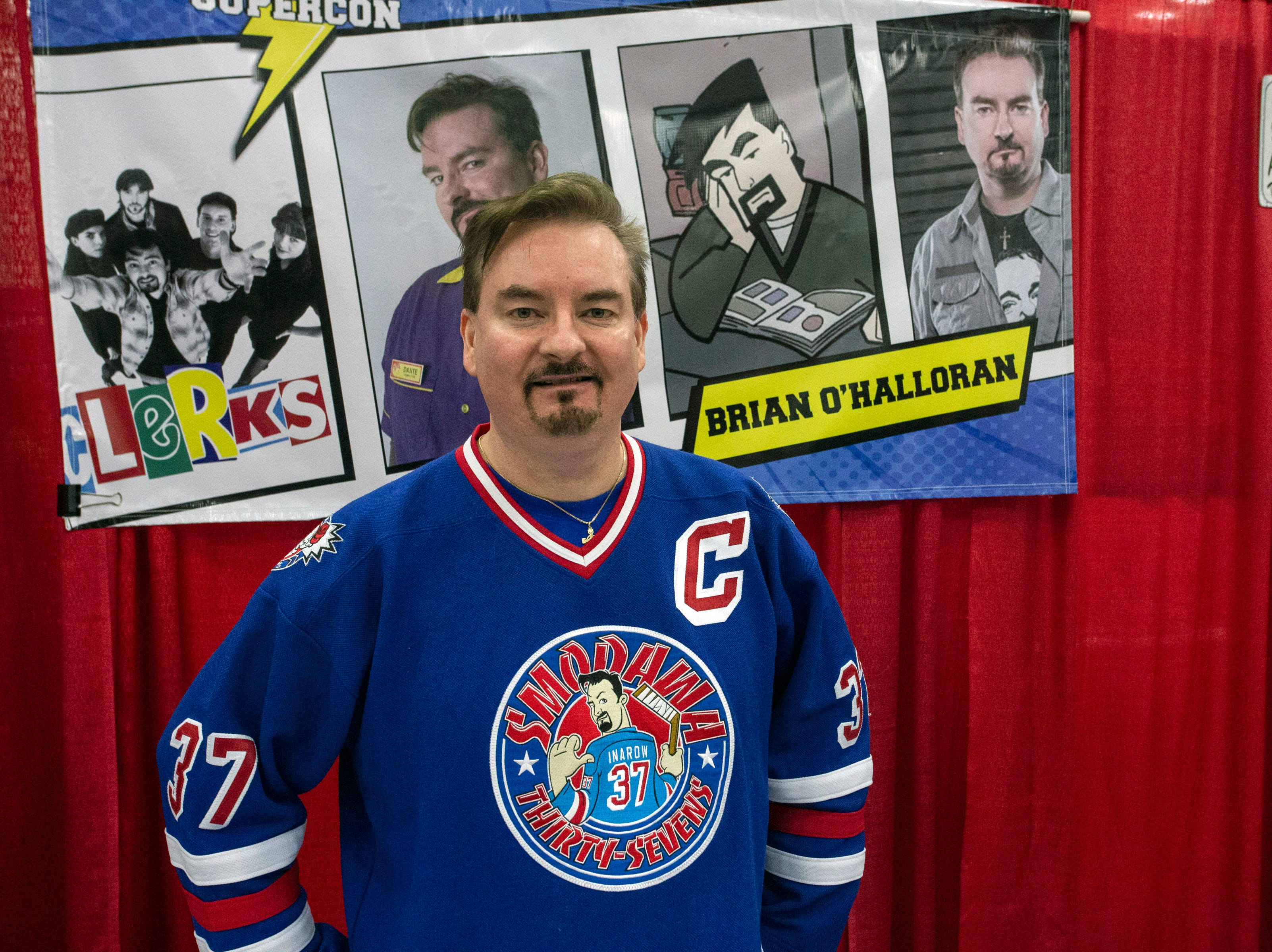 Actor Brian C. O'Halloran (Clerks) provided autographs to fans during Louisville SuperCon. 12/1/18