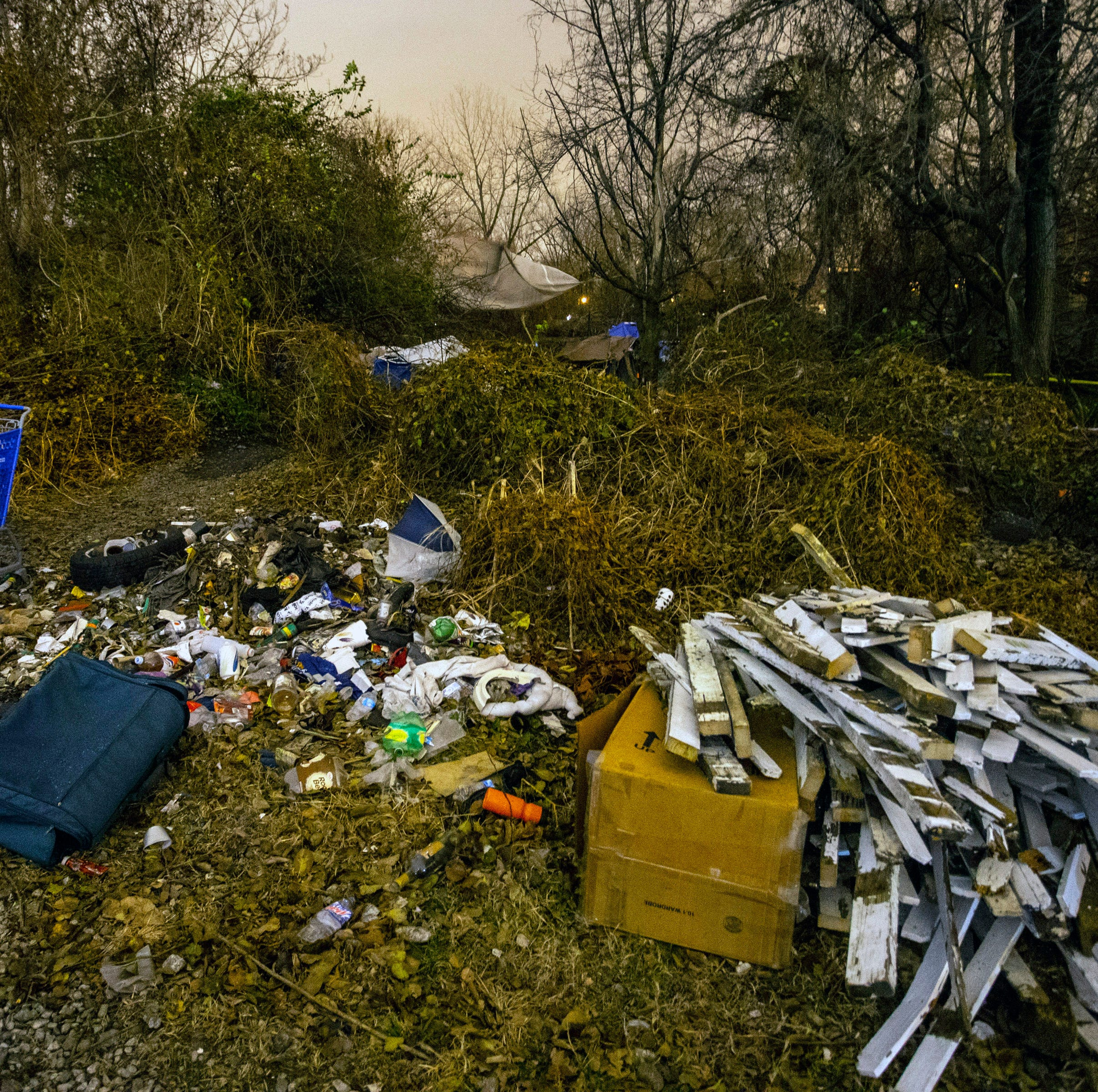 People living in homeless camp near CSX rail line will be forced to leave