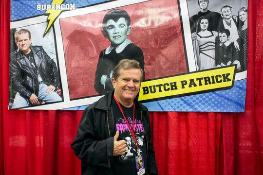 Eddie Munster himself (Butch Patrick) was in the house for Louisville SuperCon. 12/1/18