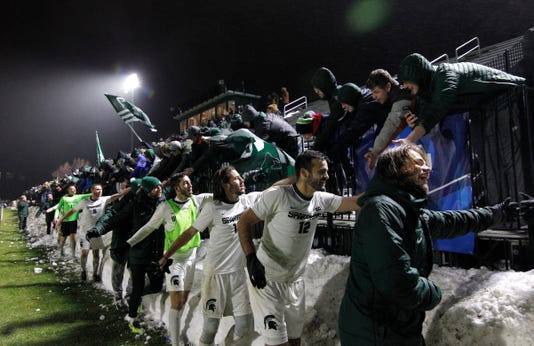 Msu Ncaa Elite 8 Soccer Vs James Madison