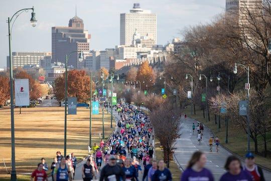 The St. Jude Memphis Marathon held on Saturday, December 1, 2018.