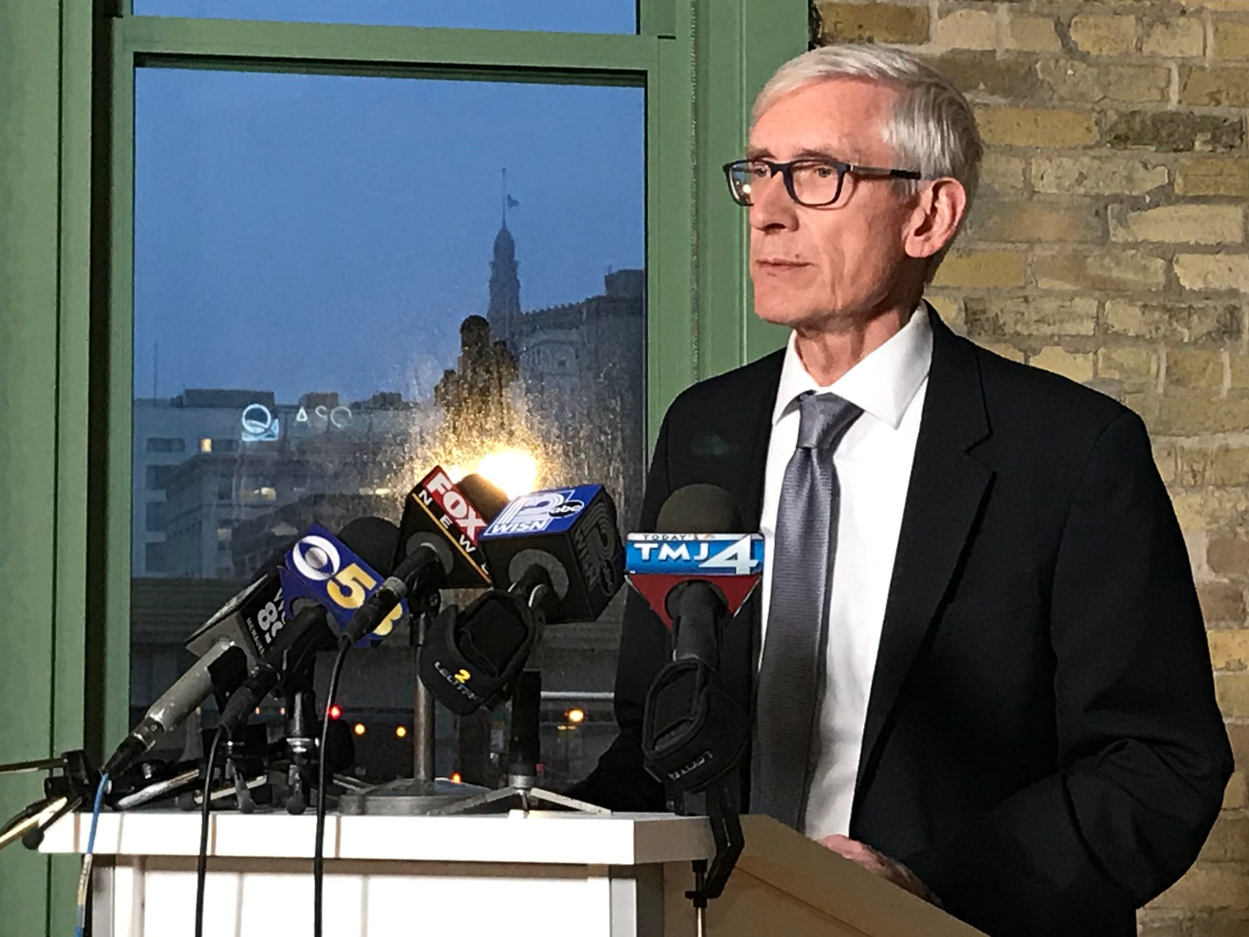 Tony Evers says it will take a lawsuit to get him to go along with lame-duck legislation