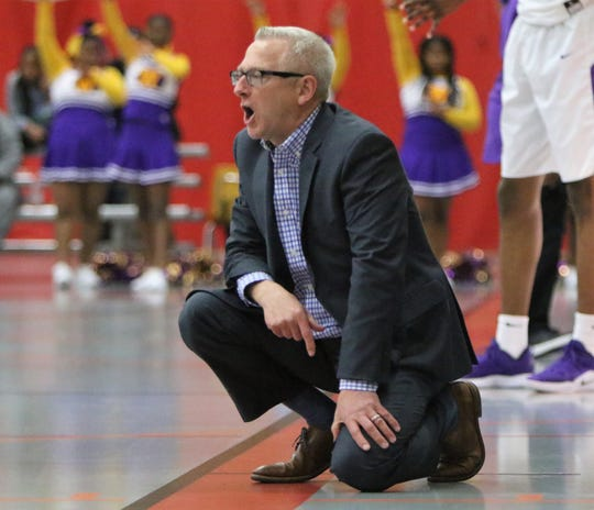 Martin Luther head coach Paul Wollersheim owns three state titles from his time at Dominican.