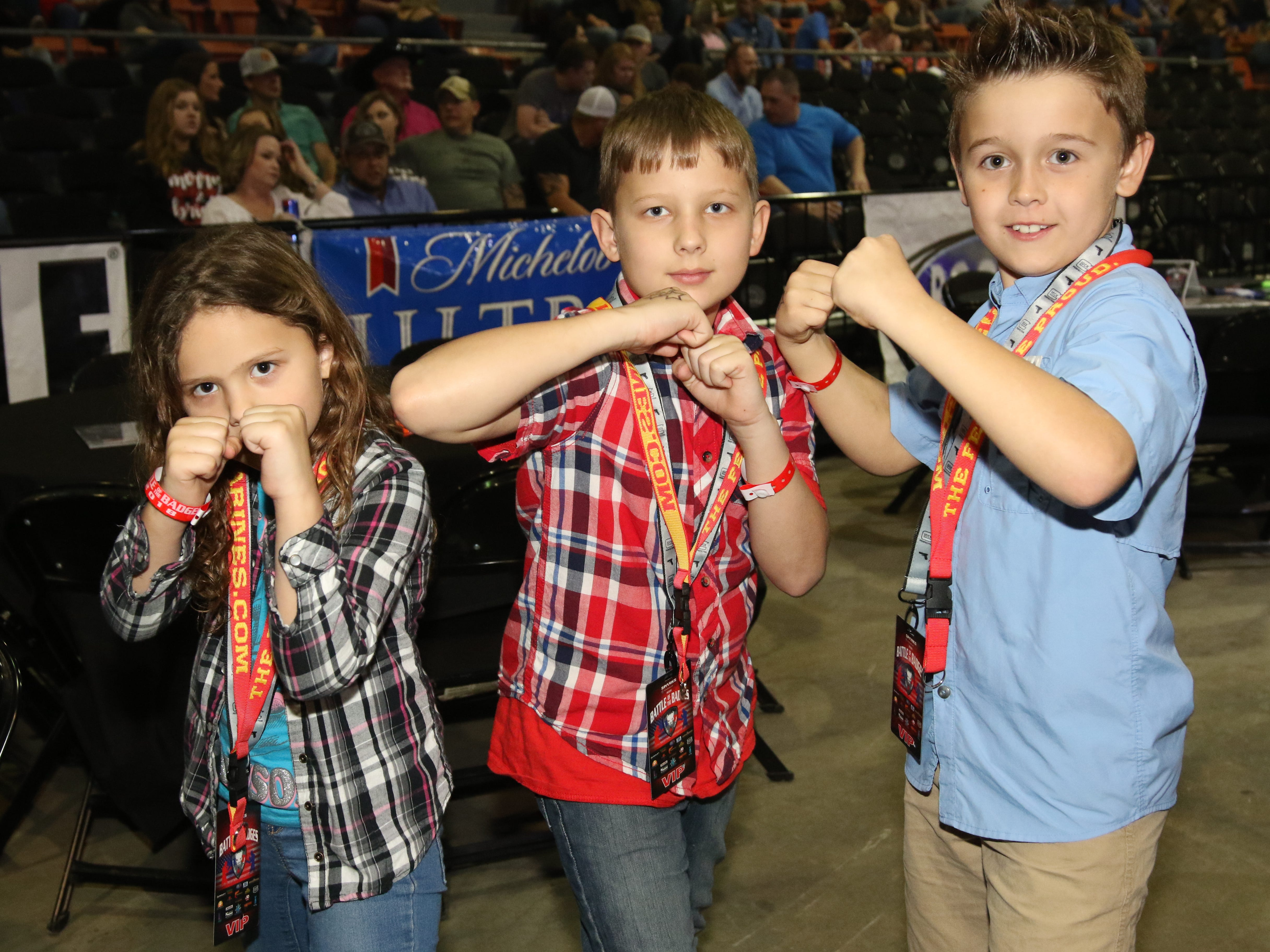 2018 Battle of the Badges was held at the Monroe Civic Center on Saturday, December 1.