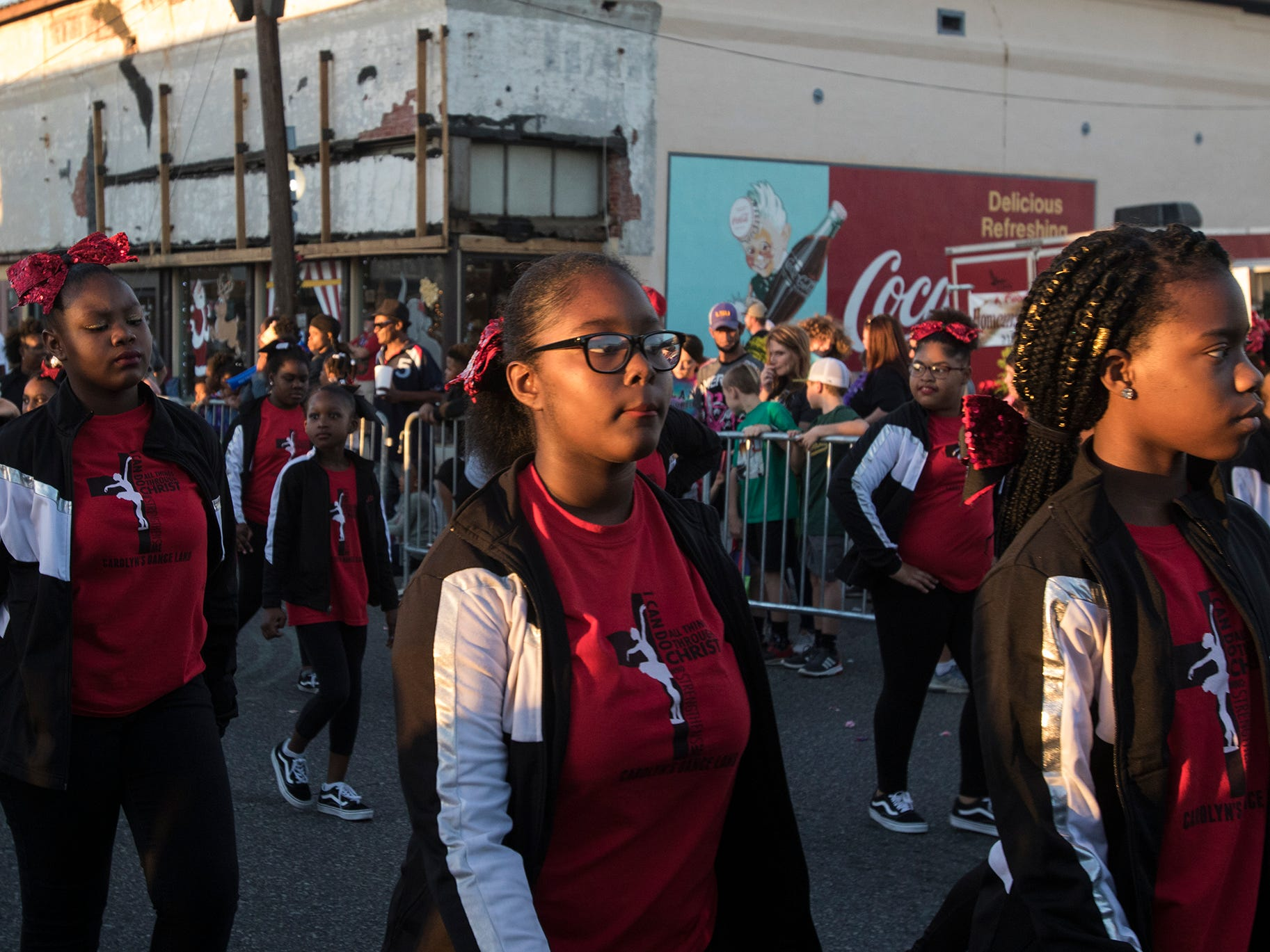 Monroe and West Monroe held their annual parade through the downtown of both towns in La. on Dec. 1.