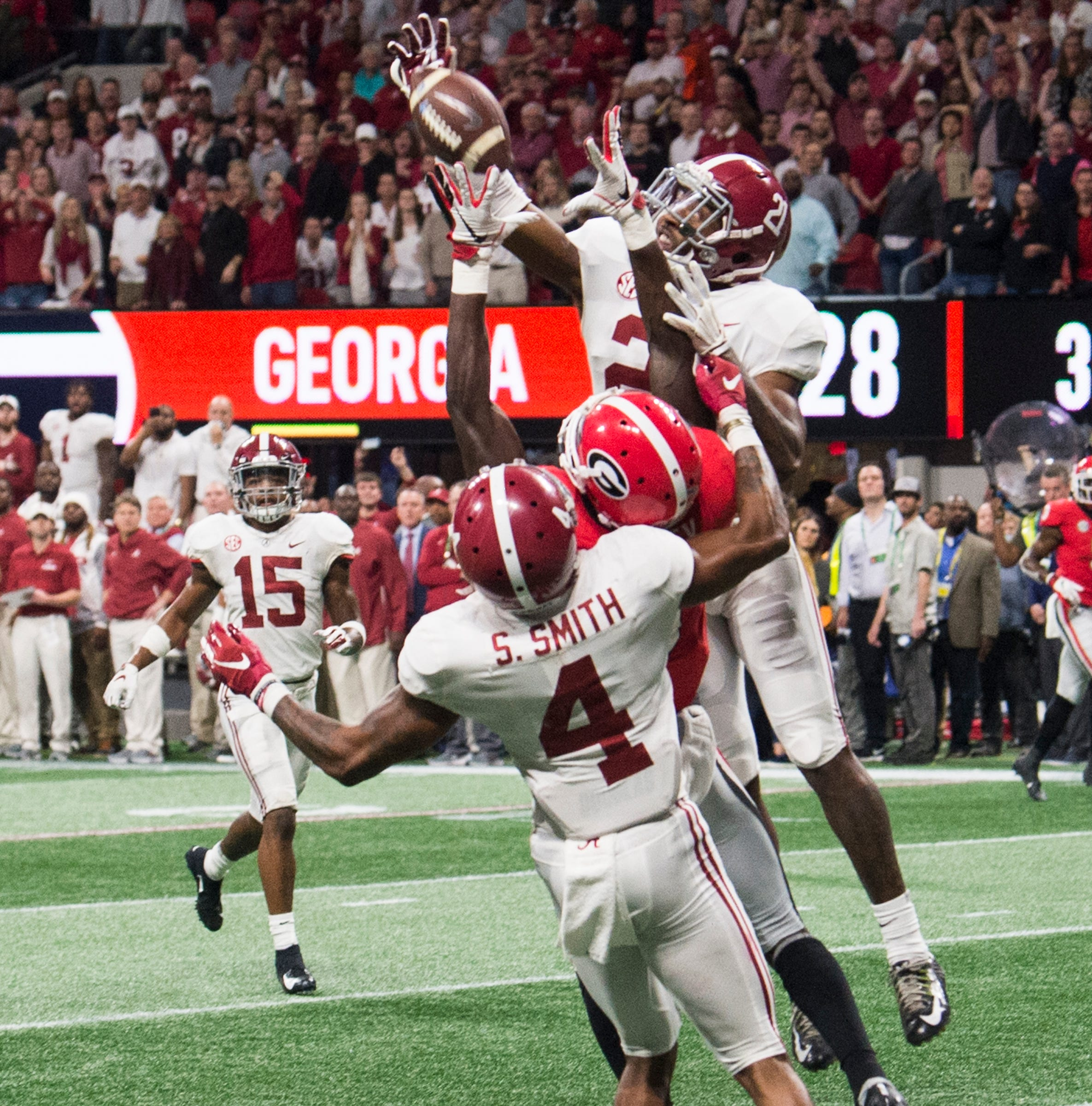 Alabama veteran DB Mayden making a home for himself at free safety