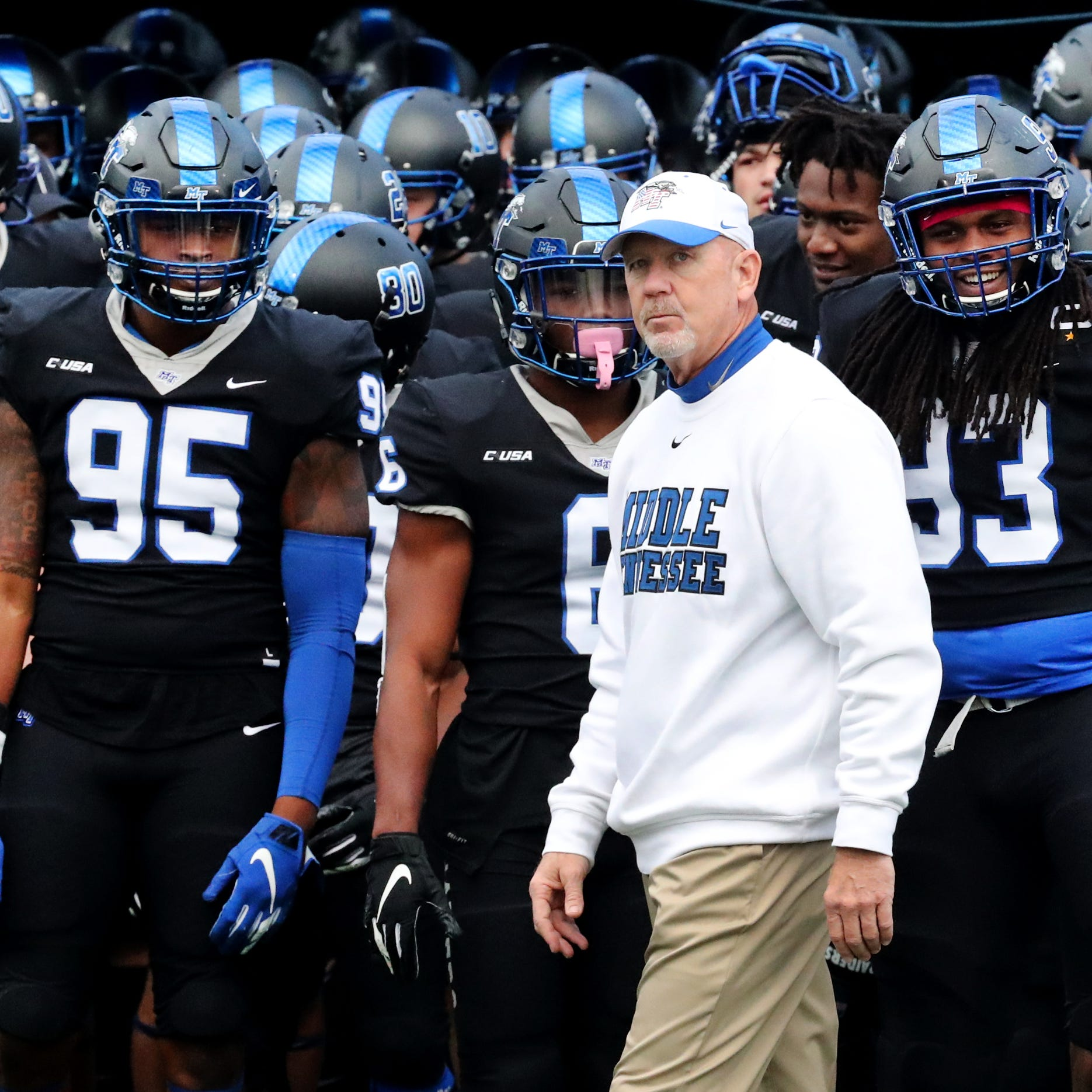MTSU football schedule 2019 includes trips to Michigan and Iowa, home game vs Duke